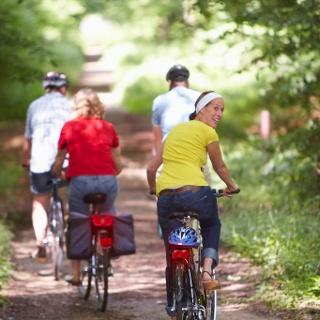 Radfahrer in Bentheim