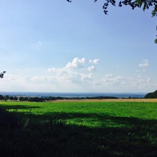 Über dem Kreis Paderborn