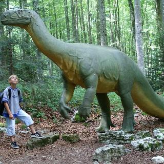 Täuschend echter Plateosaurus.
