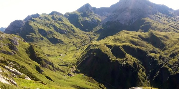 Blick zur Ravensburger Hütte
