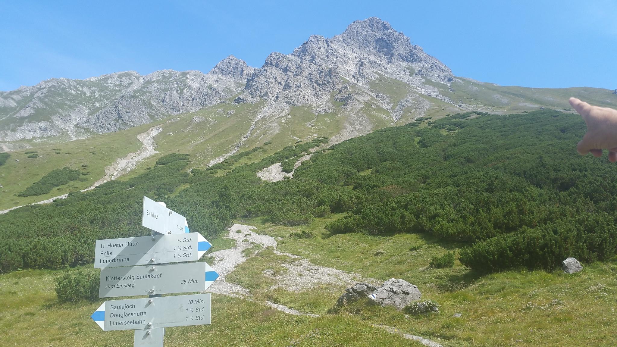 Klettersteig Saulakopf : Gipfeltour saulakopf ostwand Österreichs wanderdörfer