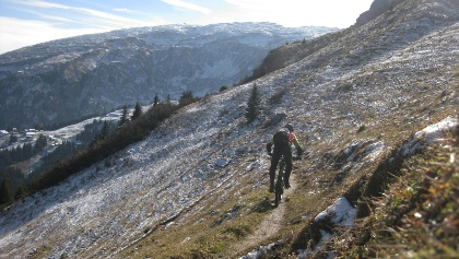 Mountainbiken am Geissloch