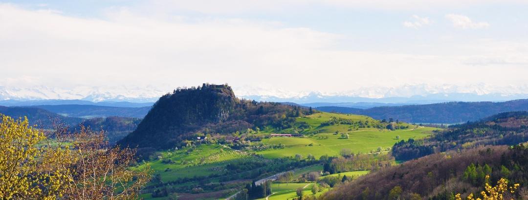 Landschaft im Hegau