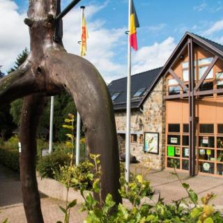 Die Tour startet am Naturzentrum Haus Ternell im Uhrzeigersinn