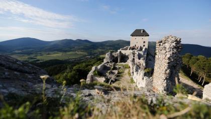 Die Burg von Regéc