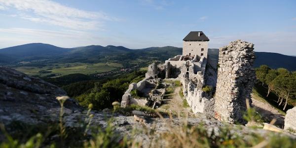 The castle of Regéc