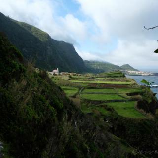 Blick auf Ponta Fãja und Fãja Grande