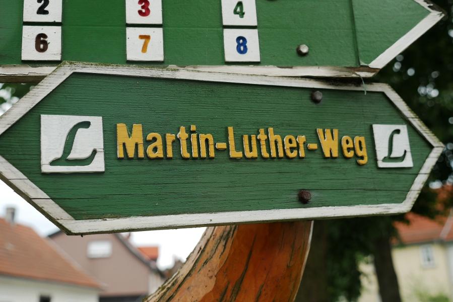 Auf dem Lutherweg von Tambach-Dietharz nach Paulinzella