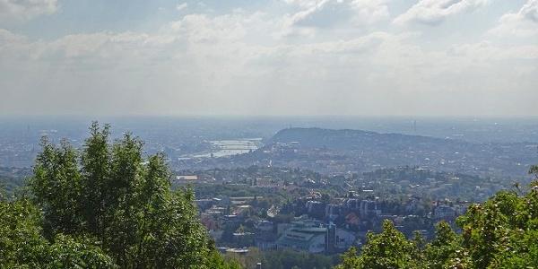Kilátás az Árpádkilátóból