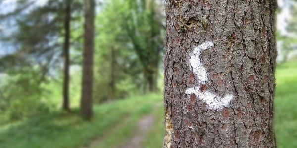 Beschriftung Lechweg