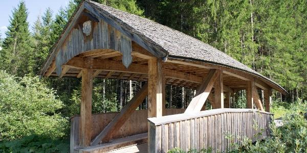 Gedeckte Brücke Riezlern Höfle