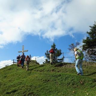 Noch wenige Meter bis zum Aussichtspunkt Kojen.