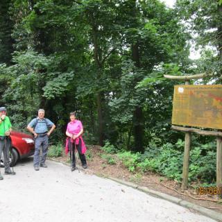Startpunkt Wanderparkplatz Wachenburg