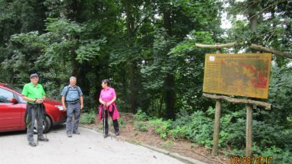 Ziel Parkplatz Wachenburg