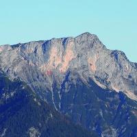 Der Untersberg vom Rauhen Kopf