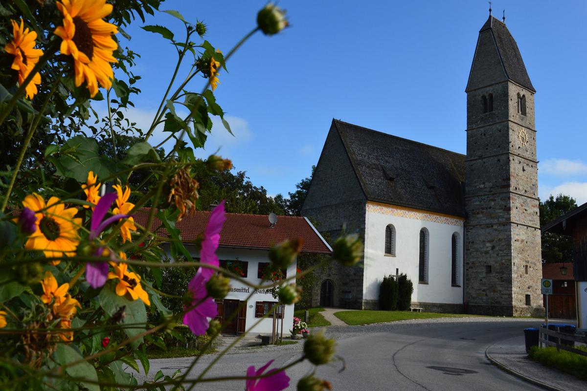 Kirche Maria Himmelfahrt in Hirnsberg
