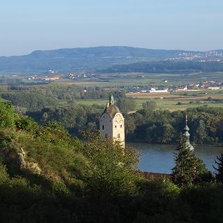 Blick auf Stein vom Wachtberg