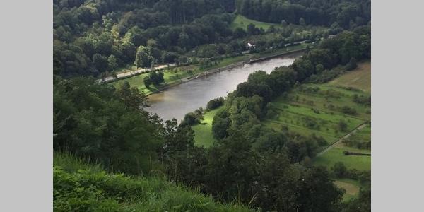 Aussichtspunkt oberhalb von Neckargerach
