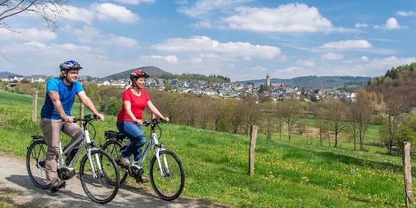 Fahrradfahren im Schmallenberger Sauerland