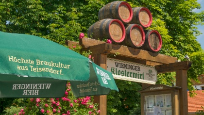 Teisendorfer Bierwanderweg Einkehr beim Klosterwirt Höglwörth