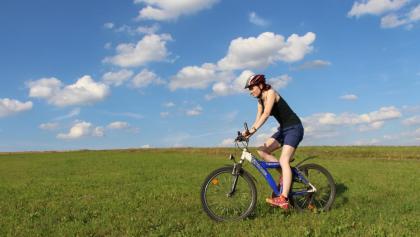 Radfahren in Medebach auf den M-Wegen.