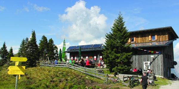 Die Zollnersee Hütte