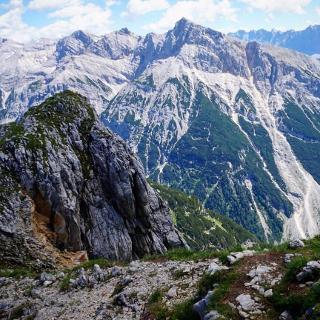 Pleisenspitze peak