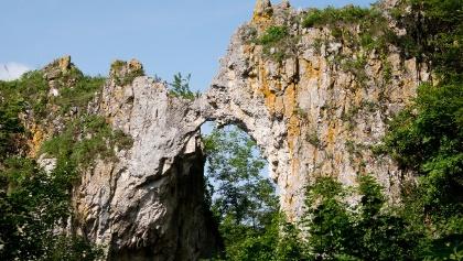 """Felsenbrücke """"Küssende Sau"""""""