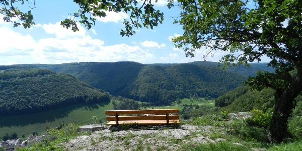 Aussicht vom Wasserfels