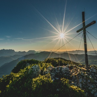 Auf dem Gipfel der Waidringer Steinplatte