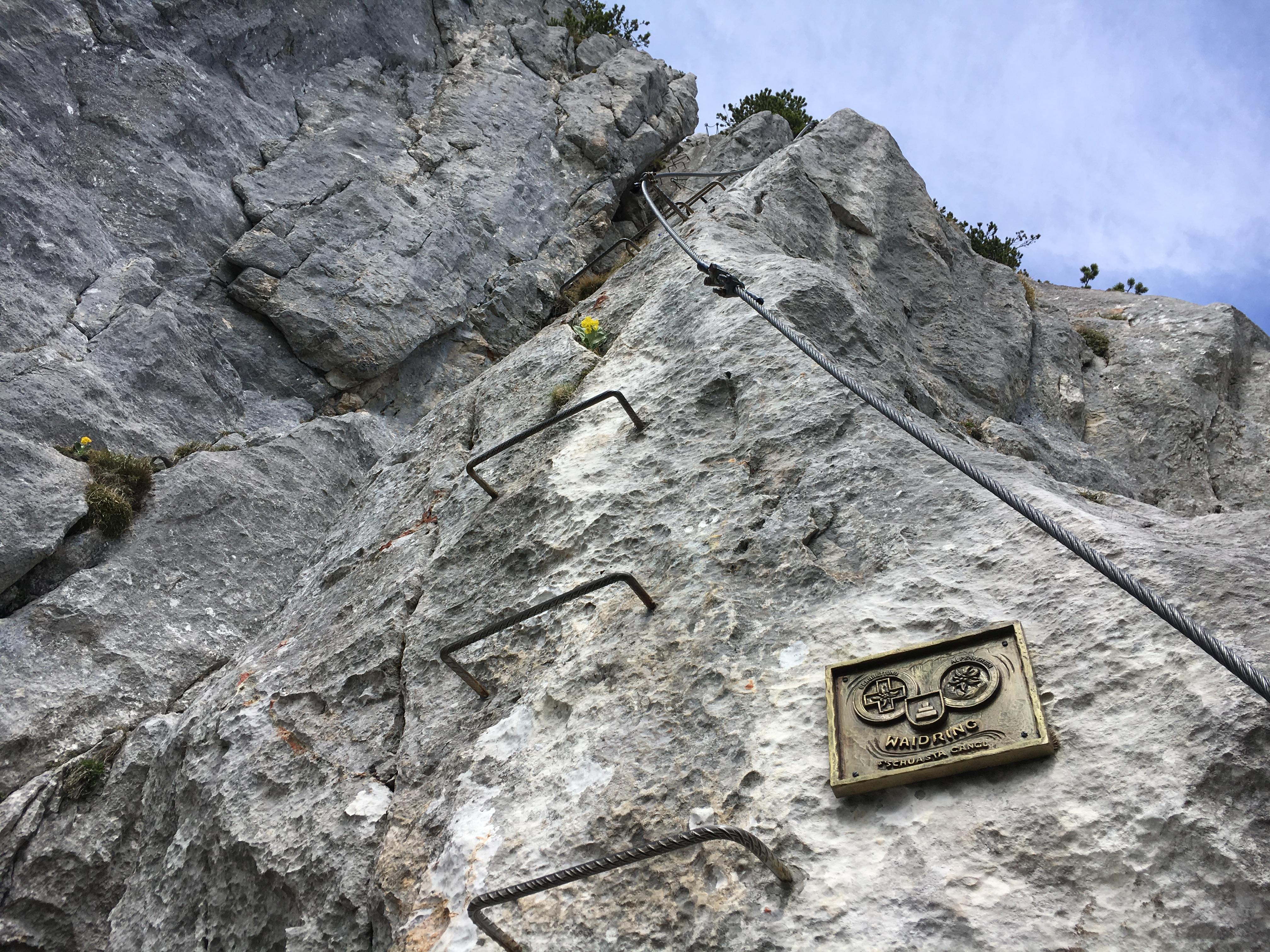 Klettersteig Kitzbühel : Die schönsten klettersteige in waidring