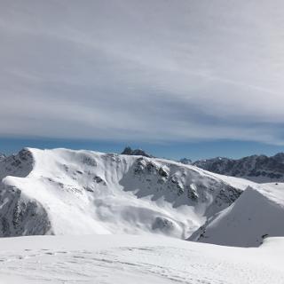 Blick auf den Gipfel des großen Gablers
