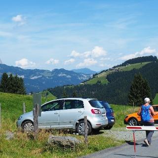 Parkplatz 1200m