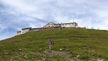Das historische Berghotel auf dem Faulhorn.