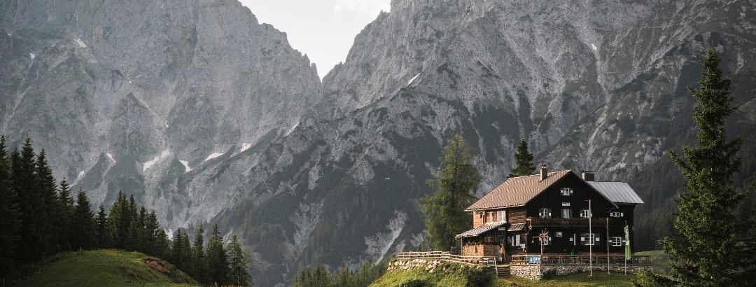 Mödlingerhütte mit Reichenstein