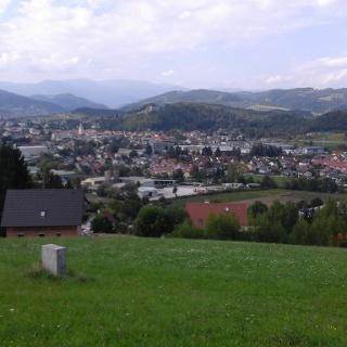 Blick auf Voitsberg