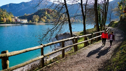 Cycle path between Pieve and Pur