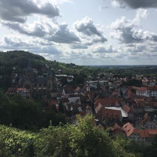 Rückblick auf Heppenheim