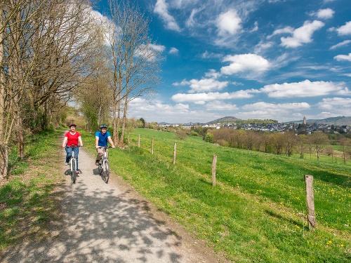 Auf der Kinderland Trecking-Radroute in Schmallenberg (48,3km)