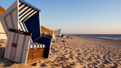 Strandkörbe in Wenningstedt