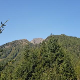 Der Gipfel des Schrotthorn vor dem Aufstieg