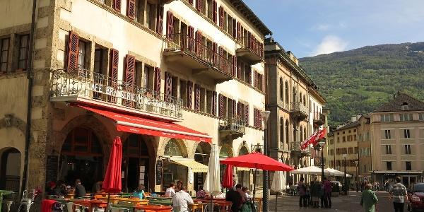 In der Altstadt von Sion.