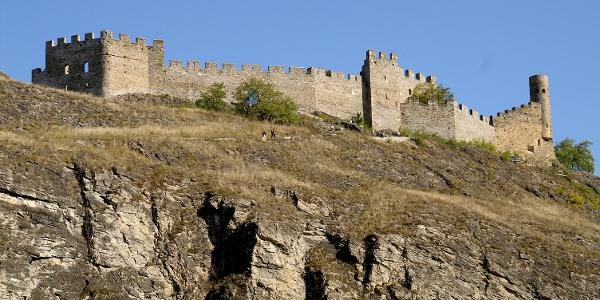 Burgruine Tourbillon.
