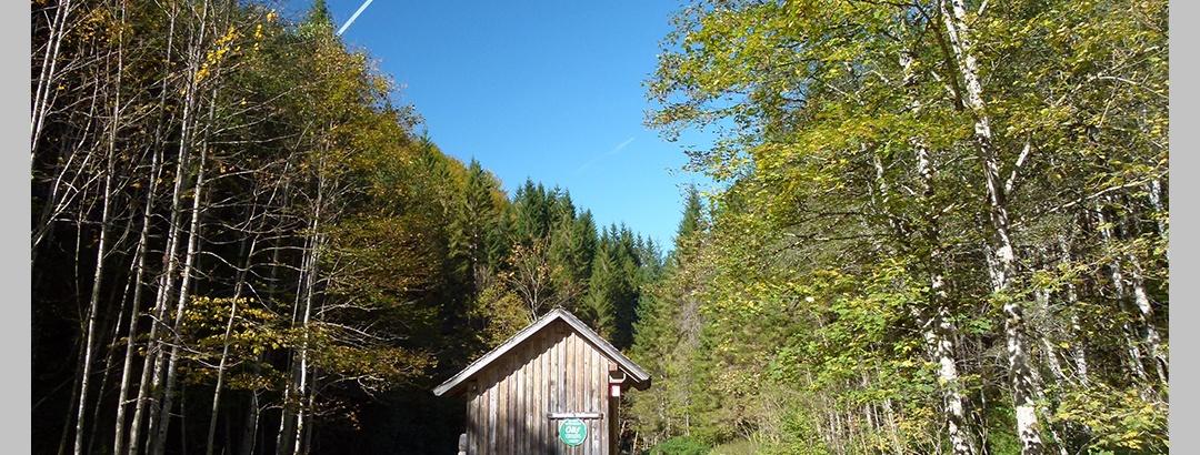 Biwakplatz Weißwasser im Reichraminger Hintergebirge