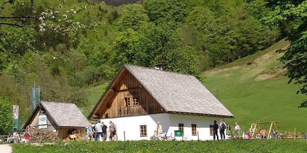 ÖBF Versorgungsstation Jagahäusl im Bodinggraben
