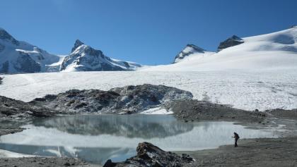 Blick in Richtung Klein Matterhorn.