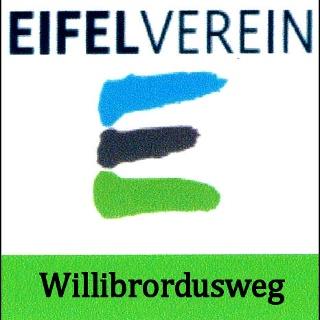 Markierungszeichen des Willibrordusweges
