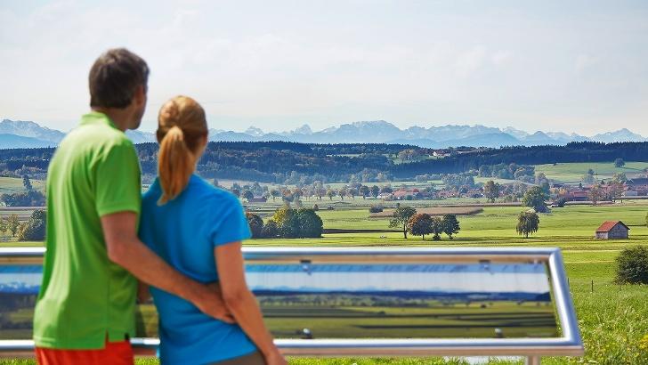 Alpenblick von Hartenthal aus