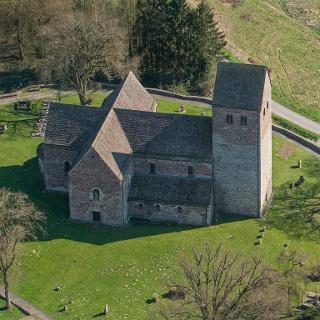 Kilianskirche Lügde von oben
