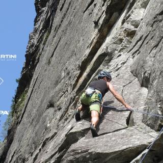 Lackenkopfwand - tolle Kletterei in La Rampa